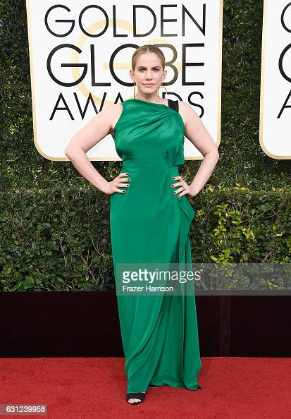 Actress Anna Chlumsky attends the 74th Annual Golden Globe Awards at The Beverly Hilton Hotel on January 8 2017 in Beverly Hills California