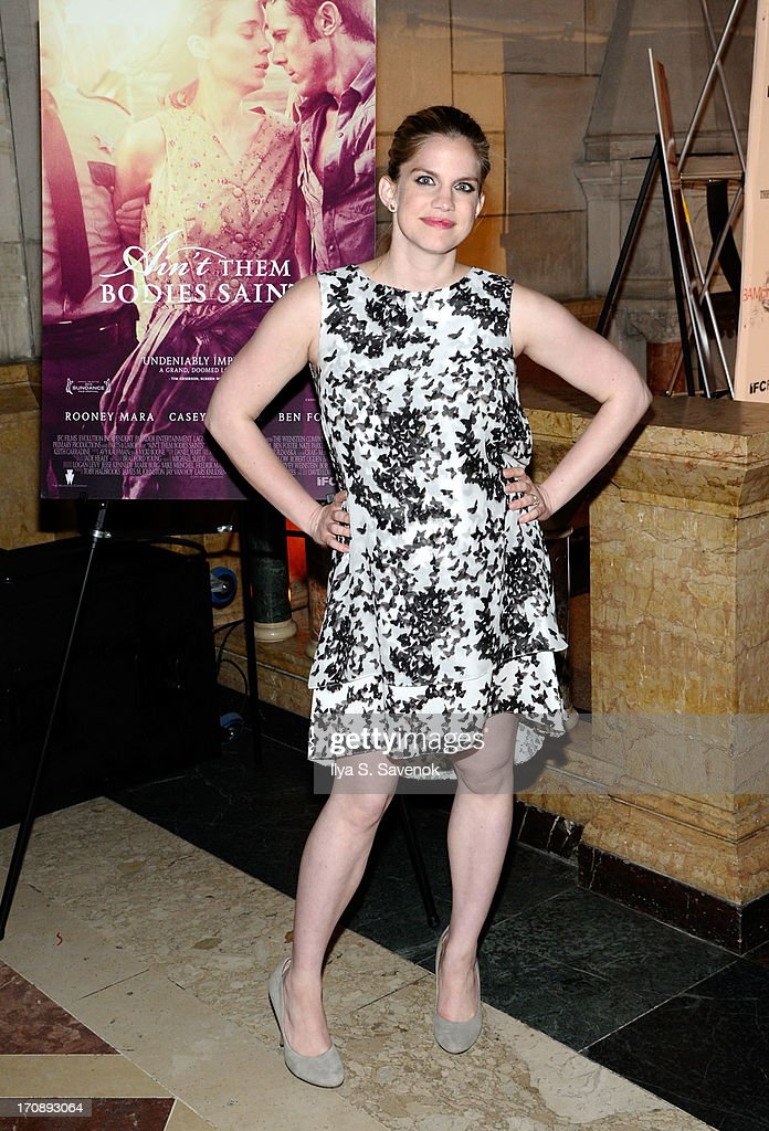 Actress Anna Chlumsky attends the after party for the Opening Night premiere of 'Ain't Them Bodies Saints' hosted by The Cinema Society at Skylight One Hanson on June 19, 2013 in New York City.