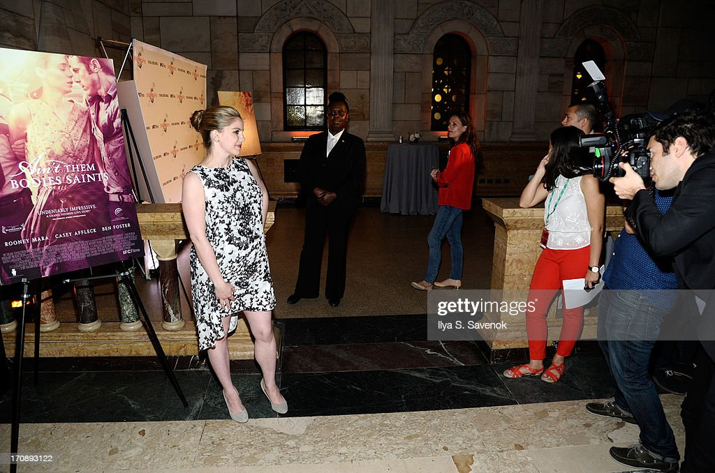 Actress Anna Chlumsky attends the after party for the Opening Night premiere of 'Ain't Them Bodies Saints' hosted by The Cinema Society at Skylight...