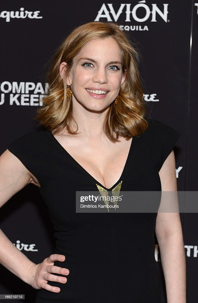 Actress Anna Chlumsky attends 'The Company You Keep' New York Premiere at MOMA on April 1, 2013 in New York City.