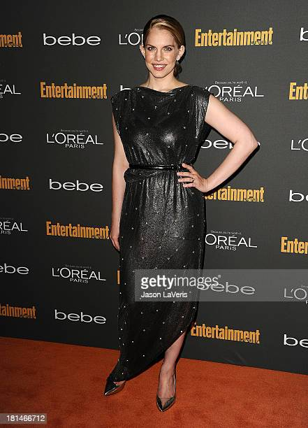 Actress Anna Chlumsky attends the Entertainment Weekly preEmmy party at Fig Olive Melrose Place on September 20 2013 in West Hollywood California