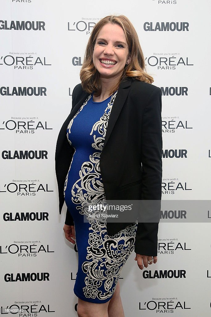 Actress Anna Chlumsky attends the Glamour And L'Oreal Paris Celebration for the Top Ten College Women at The Diana Center At Barnard College on April...