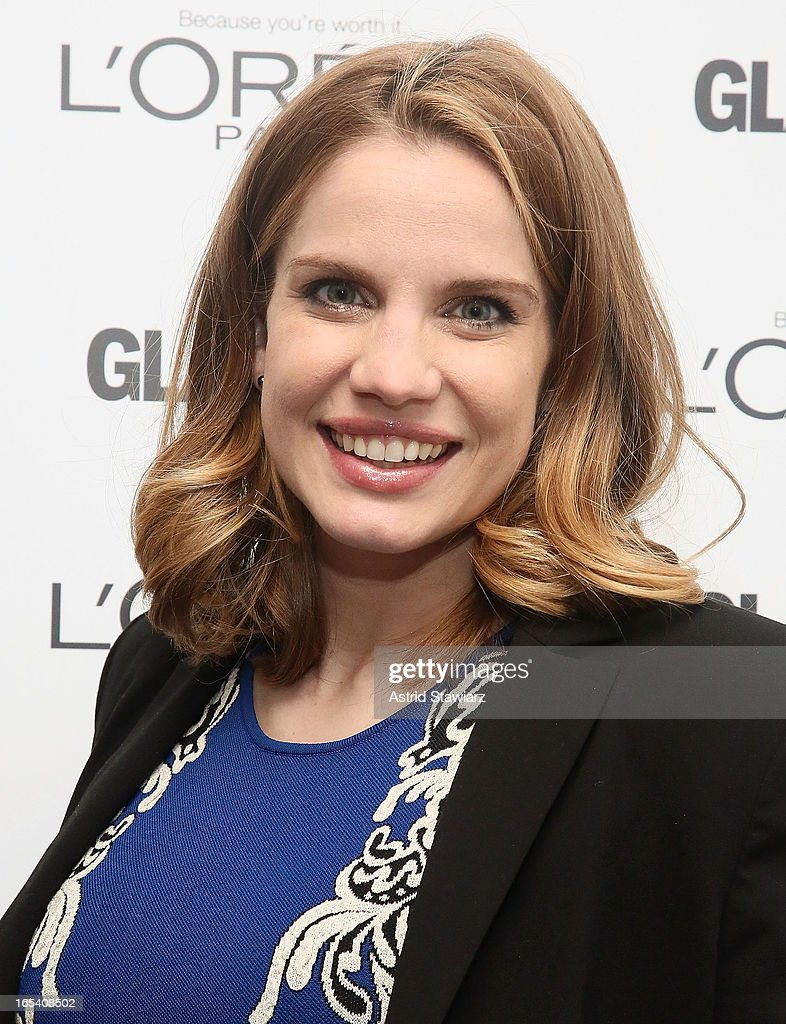 Actress Anna Chlumsky attends the Glamour And L'Oreal Paris Celebration for the Top Ten College Women at The Diana Center At Barnard College on April 3, 2013 in New York City.
