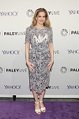 Actress Anna Chlumsky attends The Paley Center For Media hosts an evening with the cast of 'VEEP' at Paley Center For Media on April 7 2015 in New...
