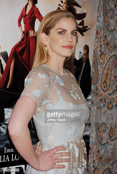 Actress Anna Chlumsky attends the premiere of HBO's 'Veep' 3rd season held at Paramount Studios on March 24 2014 in Hollywood California