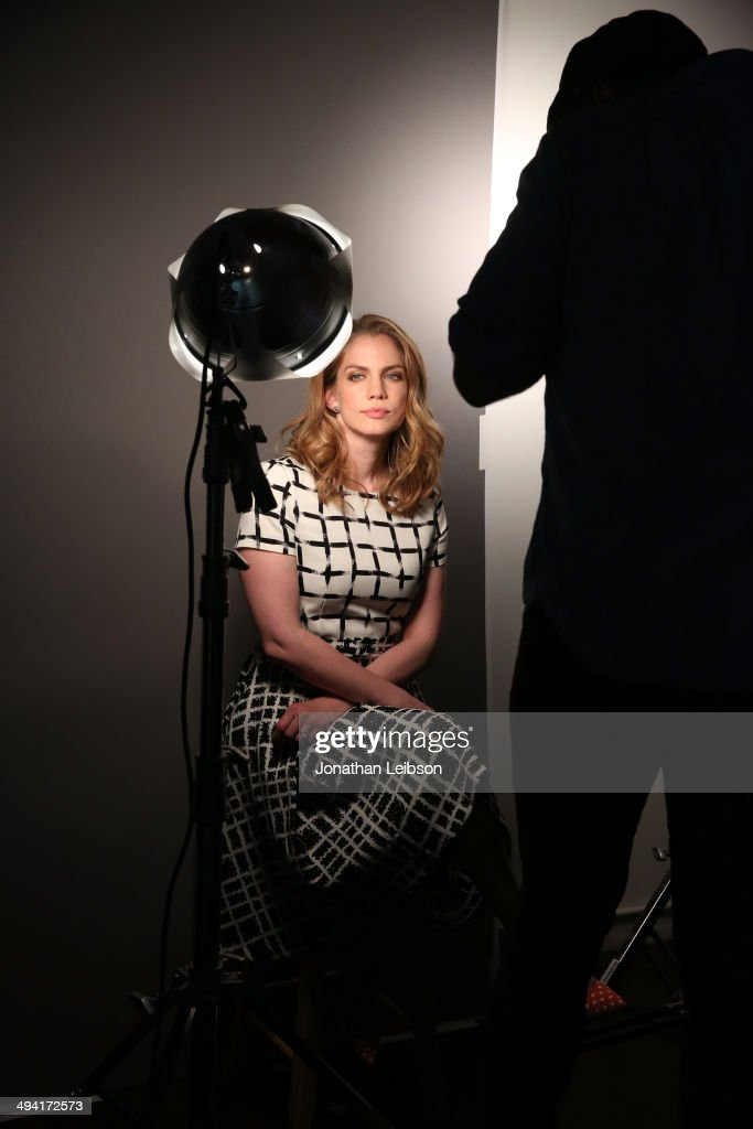 Actress <a gi-track='captionPersonalityLinkClicked' href=/galleries/search?phrase=Anna+Chlumsky&family=editorial&specificpeople=1133442 ng-click='$event.stopPropagation()'>Anna Chlumsky</a> is photographed as she attends the Variety Studio powered by Samsung Galaxy on May 28, 2014 in West Hollywood, California.