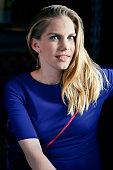 Actress Anna Chlumsky is photographed for The Wrap on June 10 2015 in Los Angeles California