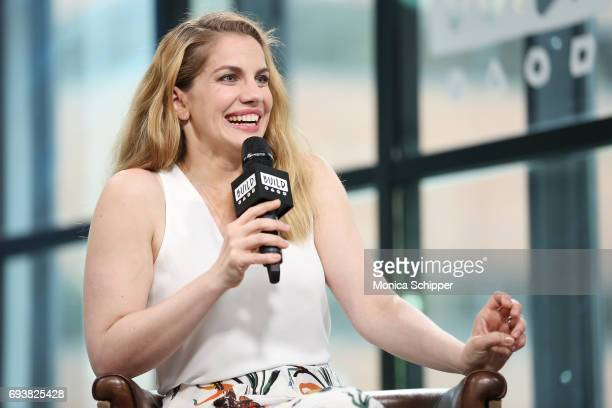 Actress Anna Chlumsky speaks on stage during Build presents Anna Chlumsky discussing 'Veep' at Build Studio on June 8 2017 in New York City