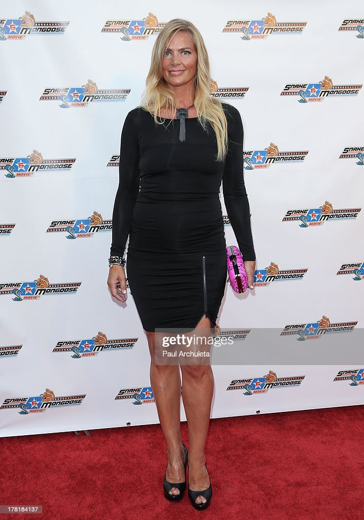 Actress Anna Colona attends the premiere of 'Snake & Mongoo$e' at the Egyptian Theatre on August 26, 2013 in Hollywood, California.