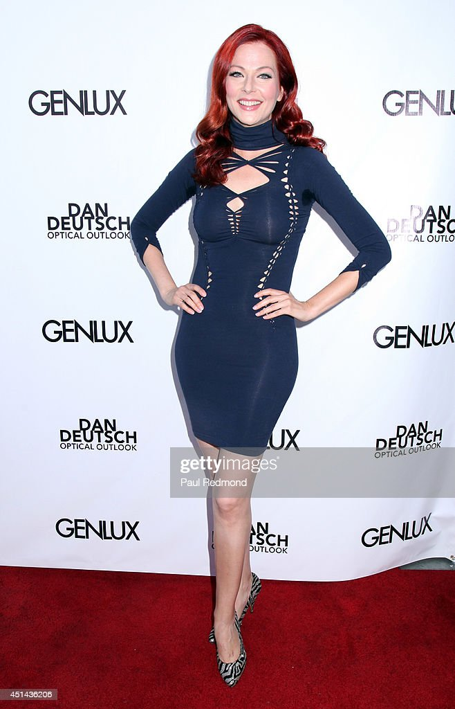 Actress <a gi-track='captionPersonalityLinkClicked' href=/galleries/search?phrase=Anna+Easteden&family=editorial&specificpeople=7561872 ng-click='$event.stopPropagation()'>Anna Easteden</a> attending the Genlux Katie Cassidy Cover party on June 28, 2014 in Los Angeles, California.