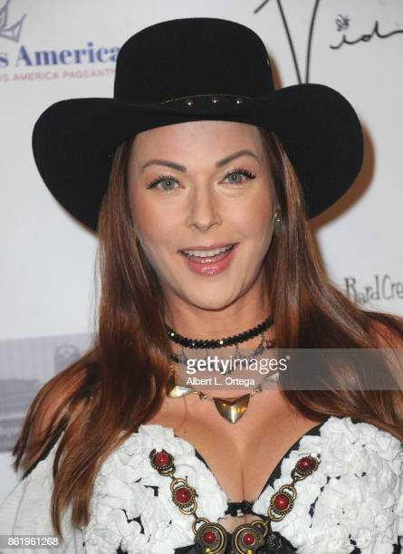 Actress Anna Easteden attends Halloween Hotness 4 Heating Up For The Cure held at American Legion Hall on October 15 2017 in Los Angeles California
