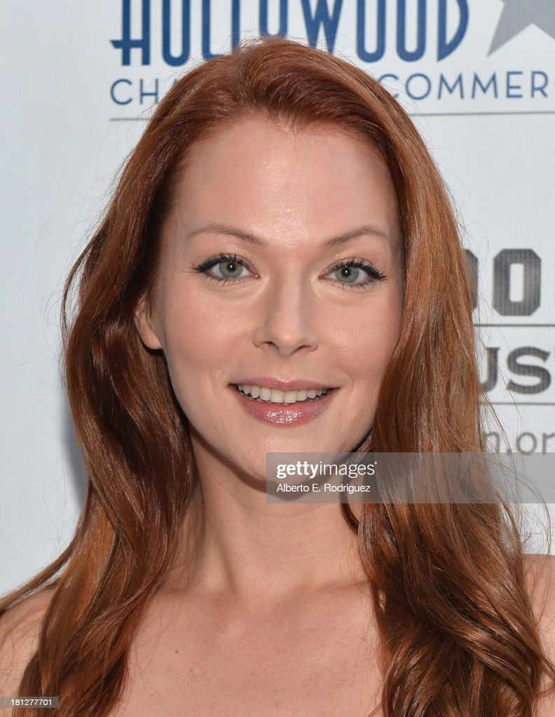 Actress Anna Easteden attends The Hollywood Chamber of Commerce & The Hollywood Sign Trust's 90th Celebration of the Hollywood Sign at Drai's Hollywood on September 19, 2013 in Hollywood, California.