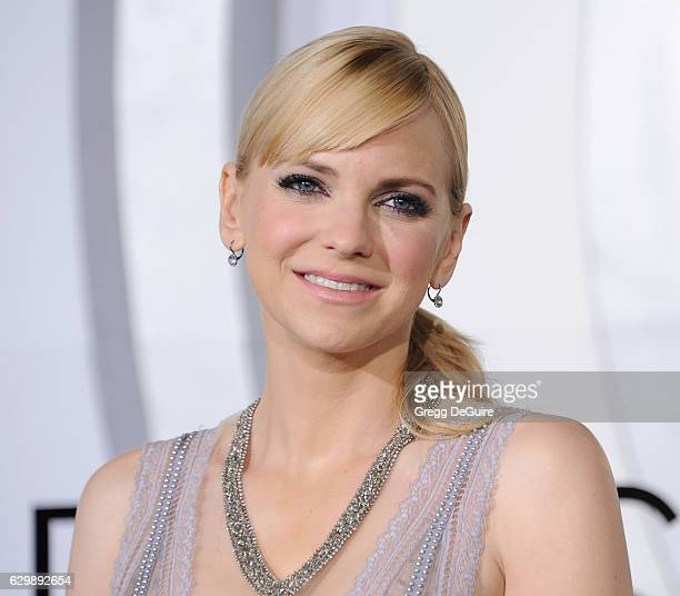 Actress Anna Faris arrives at the premiere of Columbia Pictures' 'Passengers' at Regency Village Theatre on December 14 2016 in Westwood California
