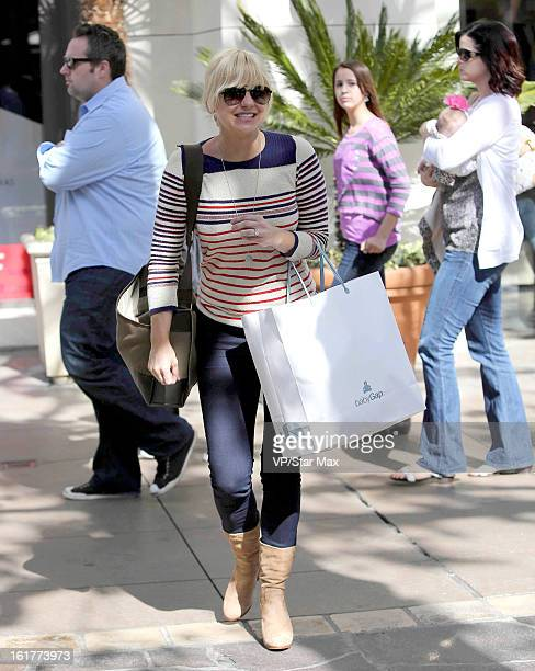 Actress Anna Faris as seen on February 15 2013 in Los Angeles California