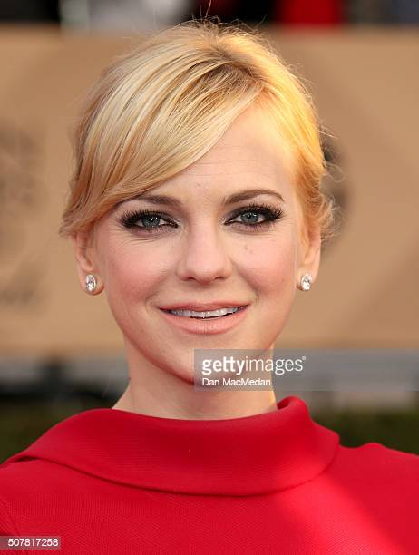 Actress Anna Faris attends the 22nd Annual Screen Actors Guild Awards at The Shrine Auditorium on January 30 2016 in Los Angeles California