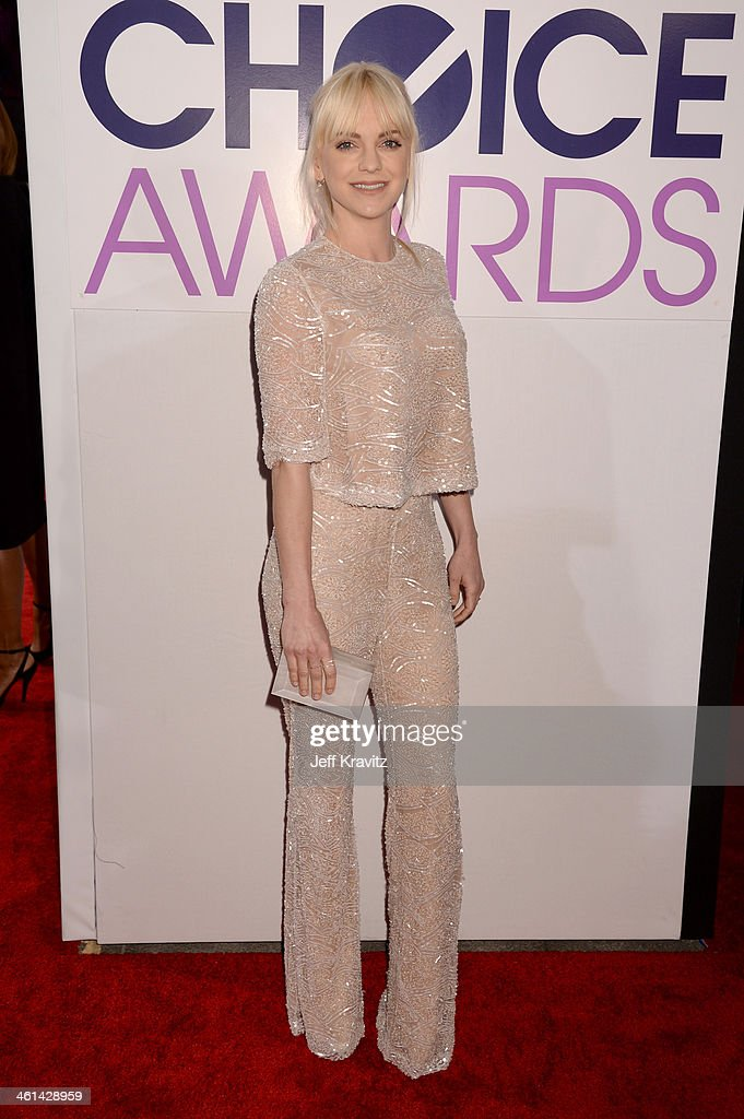 Actress Anna Faris attends The 40th Annual People's Choice Awards at Nokia Theatre LA Live on January 8 2014 in Los Angeles California