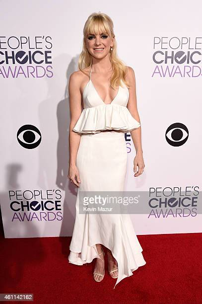 Actress Anna Faris attends The 41st Annual People's Choice Awards at Nokia Theatre LA Live on January 7 2015 in Los Angeles California