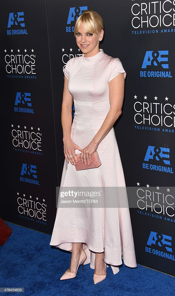 Actress Anna Faris attends the 5th Annual Critics' Choice Television Awards at The Beverly Hilton Hotel on May 31 2015 in Beverly Hills California