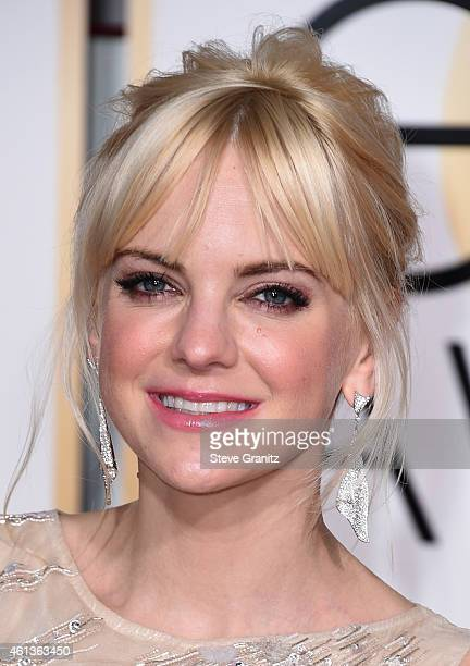 Actress Anna Faris attends the 72nd Annual Golden Globe Awards at The Beverly Hilton Hotel on January 11 2015 in Beverly Hills California