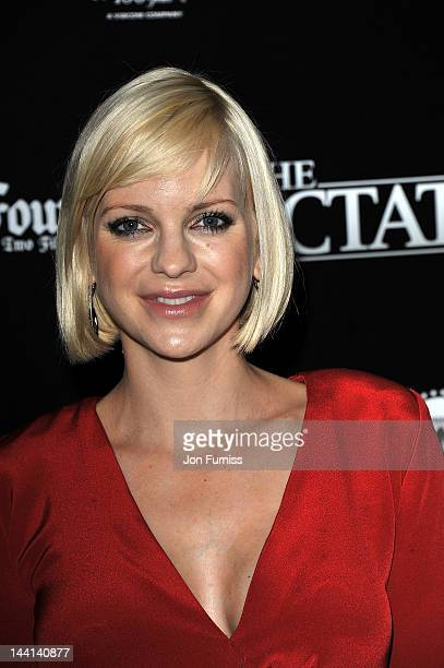 Actress Anna Faris attends The Dictator World Premiere at the Royal Festival Hall on May 10 2012 in London England