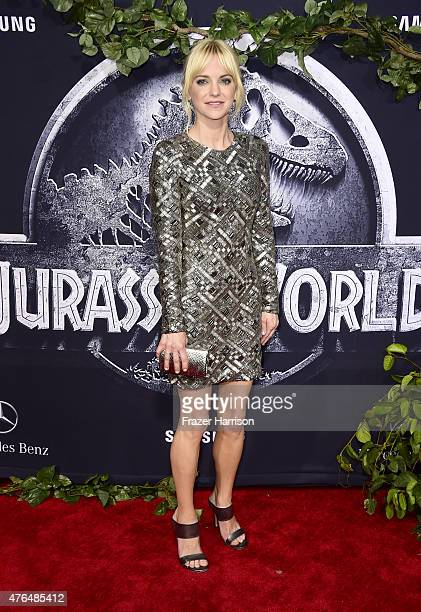Actress Anna Faris attends the Universal Pictures' 'Jurassic World' premiere at Dolby Theatre on June 9 2015 in Hollywood California
