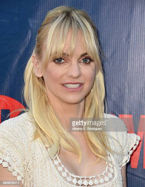 Actress Anna Farris attends CBS' 2015 Summer TCA party at the Pacific Design Center on August 10 2015 in West Hollywood California