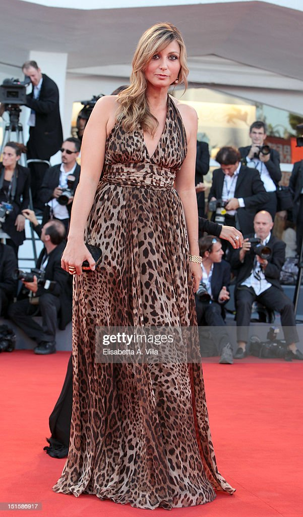 Actress Anna Ferzetti attends the Award Ceremony And 'L'Homme Qui Rit' Premiere during The 69th Venice Film Festival at the Palazzo del Cinema on September 8, 2012 in Venice, Italy.