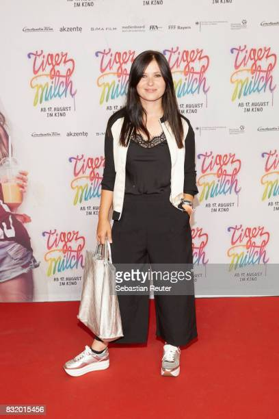 Actress Anna Fischer attends the 'Tigermilch' premiere at Kino in der Kulturbrauerei on August 15 2017 in Berlin Germany