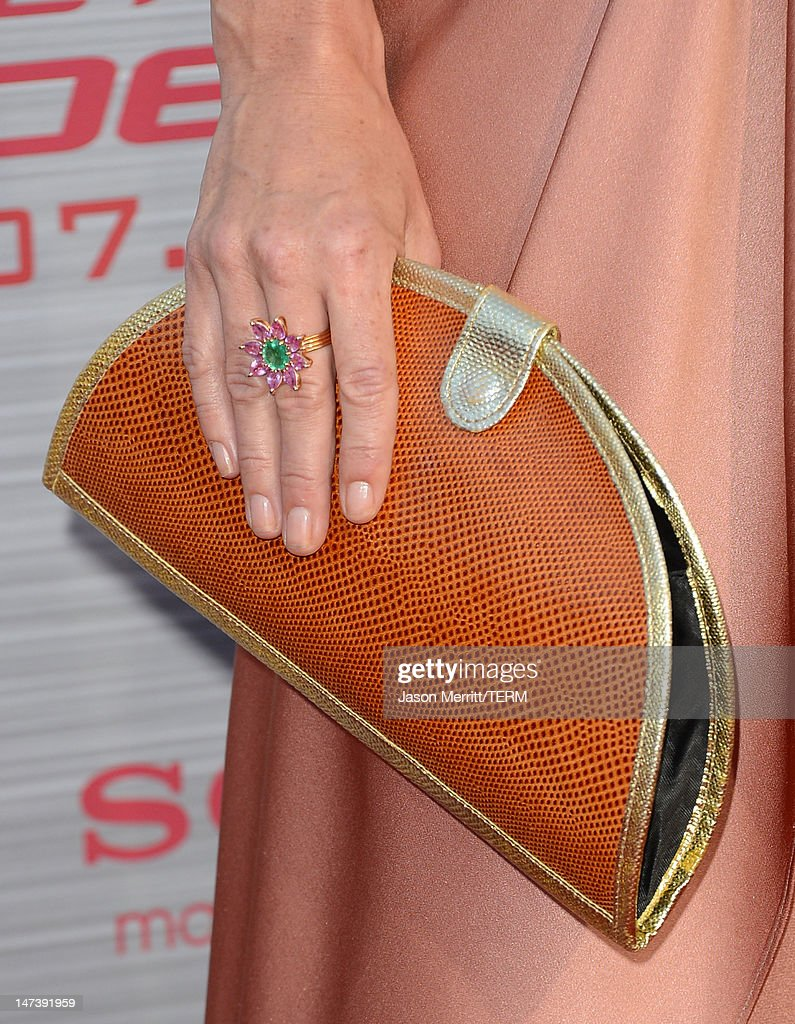 Actress Anna Friel arrives at the premiere of Columbia Pictures' 'The Amazing Spider-Man' at the Regency Village Theatre on June 28, 2012 in Westwood, California.