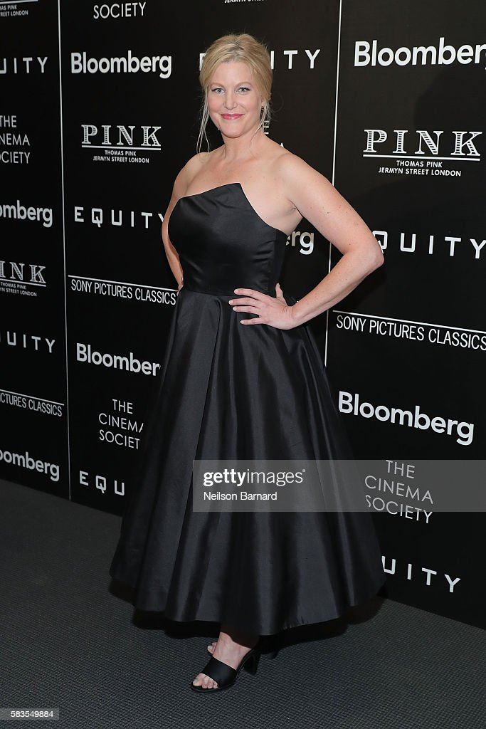 Actress Anna Gunn attends a screening of Sony Pictures Classics' 'Equity' hosted by The Cinema Society with Bloomberg and Thomas Pink at The Museum of Modern Art on July 26, 2016 in New York City.
