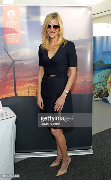 Actress Anna Gunn attends DPA PreGolden Globe Awards Gift Suite at the Luxe Hotel on January 10 2014 in Beverly Hills California