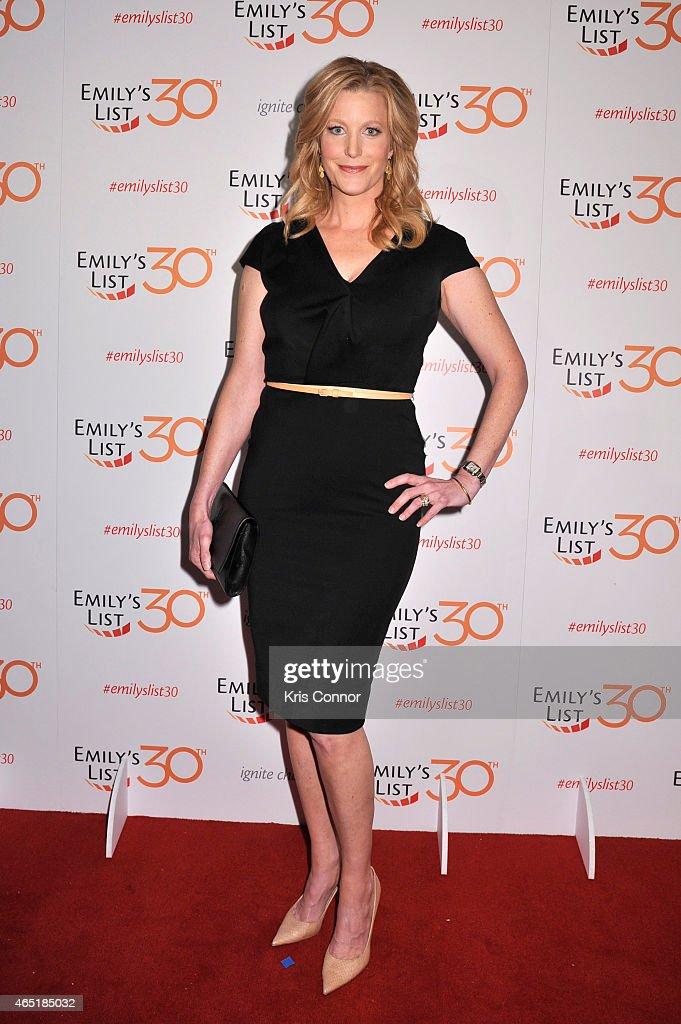 Actress Anna Gunn attends EMILY's List 30th Anniversary Gala at Washington Hilton on March 3 2015 in Washington DC