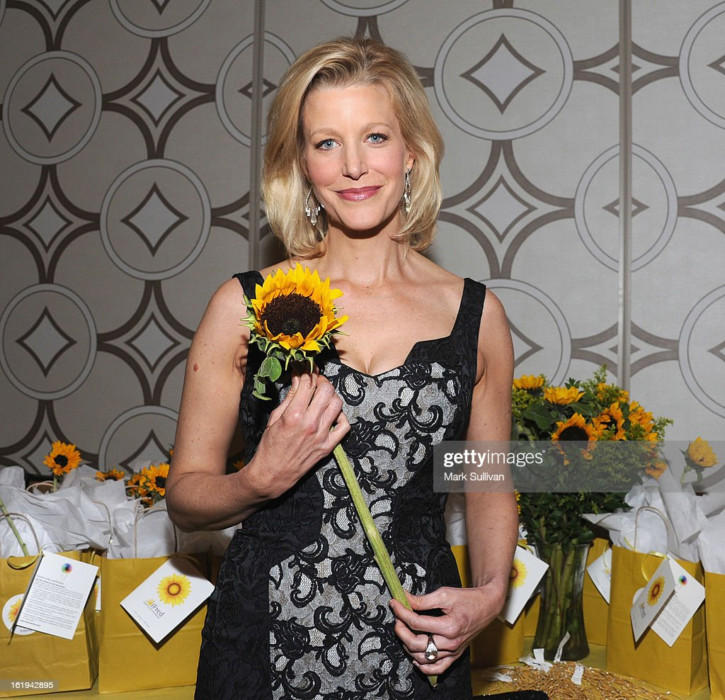 Actress Anna Gunn attends the 2013 Writers Guild Awards Backstage Creations Celebrity Retreat on February 17, 2013 in Los Angeles, California.