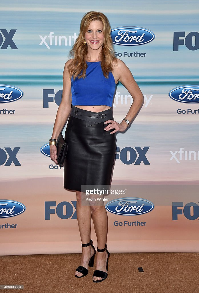 Actress Anna Gunn attends the 2014 FOX Fall EcoCasino party at The Bungalow on September 8 2014 in Santa Monica California