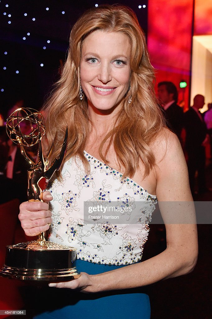 Actress Anna Gunn attends the 66th Annual Primetime Emmy Awards Governors Ball held at Los Angeles Convention Center on August 25, 2014 in Los Angeles, California.