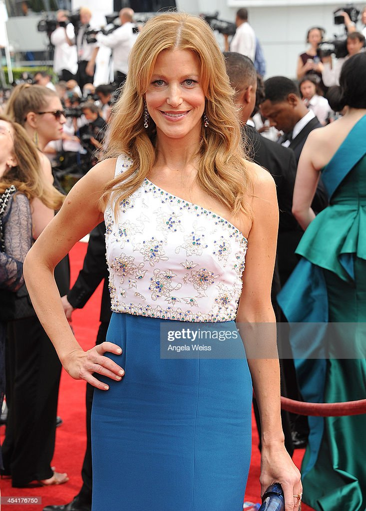 Actress Anna Gunn attends the 66th Annual Primetime Emmy Awards held at the Nokia Theatre LA Live on August 25 2014 in Los Angeles California