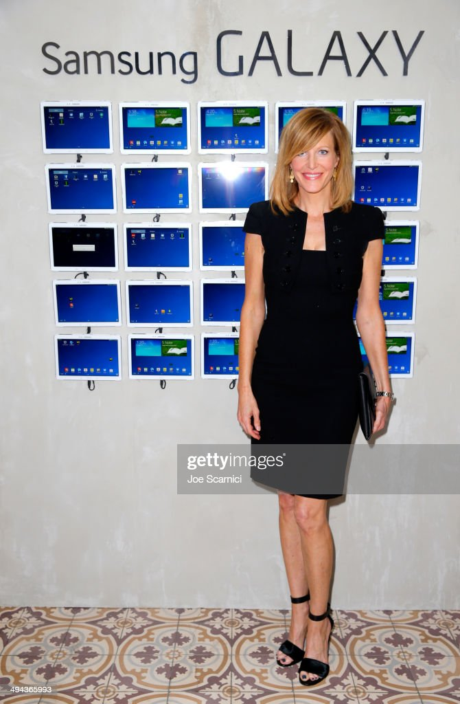 Actress Anna Gunn attends the Variety Studio powered by Samsung Galaxy at Palihouse on May 29 2014 in West Hollywood California