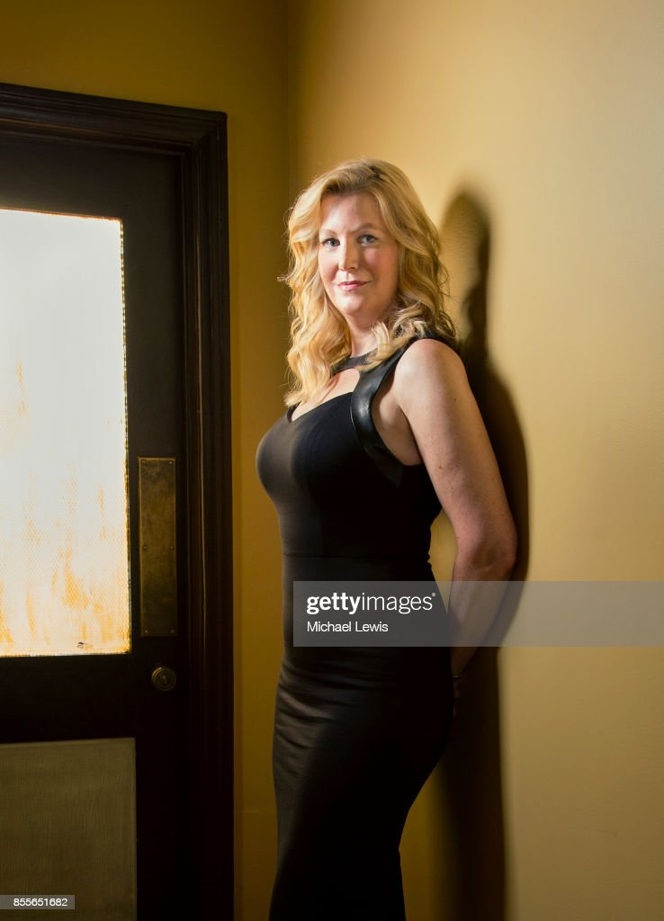 Actress Anna Gunn photographed for New York Observer on July 20, 2016, in Los Angeles, California.