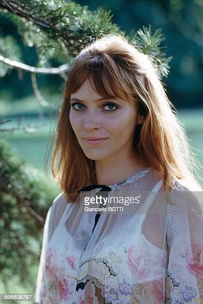 Actress Anna Karina In Paris France Circa 1960