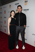 Actress Anna Kendrick and filmmaker/actor John Krasinski attend the premiere of 'The Hollars' during the 2016 Los Angeles Film Festival at ArcLight...