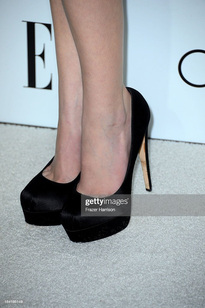 Actress Anna Kendrick arrives at ELLE's 19th Annual Women In Hollywood Celebration at the Four Seasons Hotel on October 15, 2012 in Beverly Hills, California.