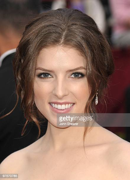 Actress Anna Kendrick arrives at the 82nd Annual Academy Awards held at the Kodak Theatre on March 7 2010 in Hollywood California