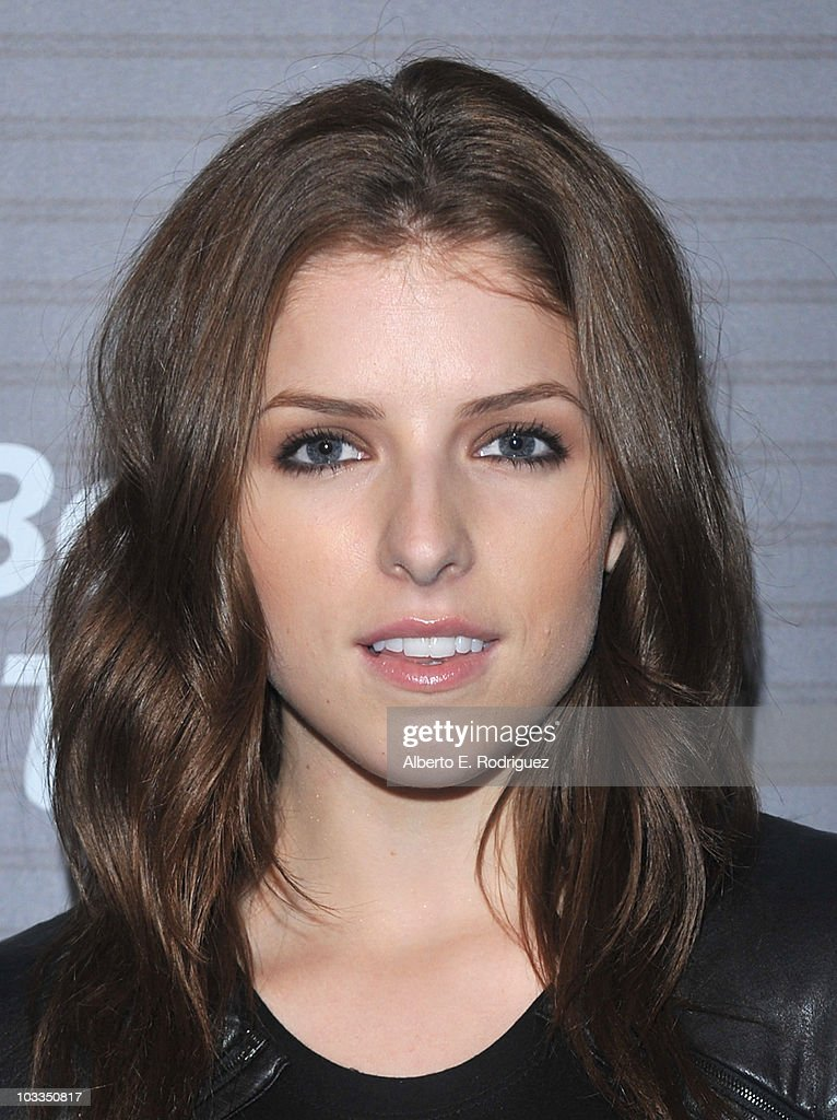 Actress Anna Kendrick arrives at the Blackberry Torch launch party on August 11 2010 in Los Angeles California