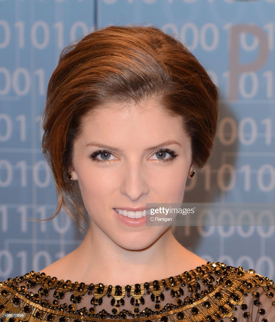 Actress <a gi-track='captionPersonalityLinkClicked' href=/galleries/search?phrase=Anna+Kendrick&family=editorial&specificpeople=3244893 ng-click='$event.stopPropagation()'>Anna Kendrick</a> arrives at the Breakthrough Prize Inaugural Ceremony at NASA Ames Research Center on December 12, 2013 in Mountain View, California.