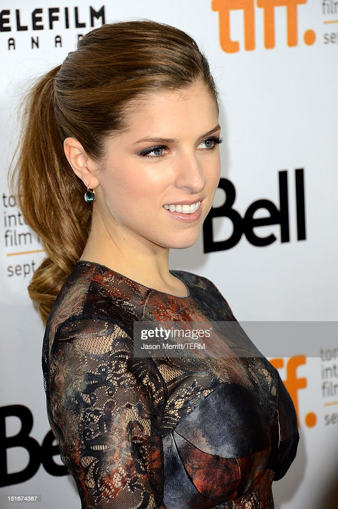 Actress Anna Kendrick arrives at 'The Company You Keep' Premiere at the 2012 Toronto International Film Festival at Roy Thomson Hall on September 9, 2012 in Toronto, Canada.