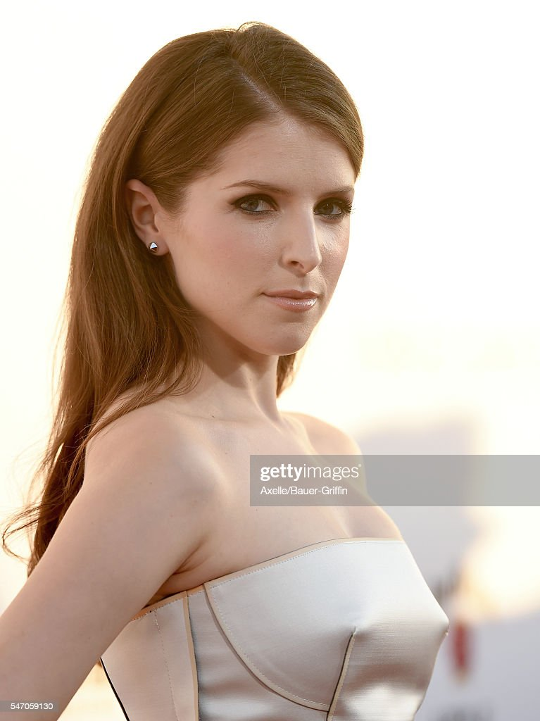 Actress Anna Kendrick arrives at the premiere of 20th Century Fox's 'Mike and Dave Need Wedding Dates' at the Cinerama Dome at ArcLight Hollywood on...
