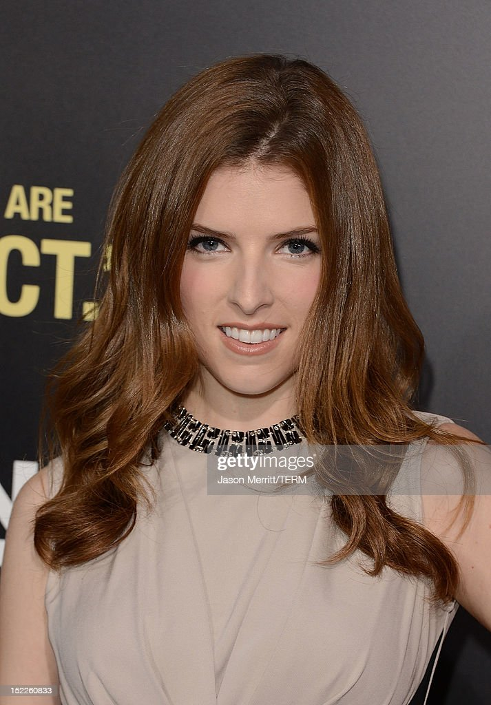 Actress Anna Kendrick arrives at the premiere of Open Road Films' 'End of Watch' at Regal Cinemas L.A. Live on September 17, 2012 in Los Angeles, California.