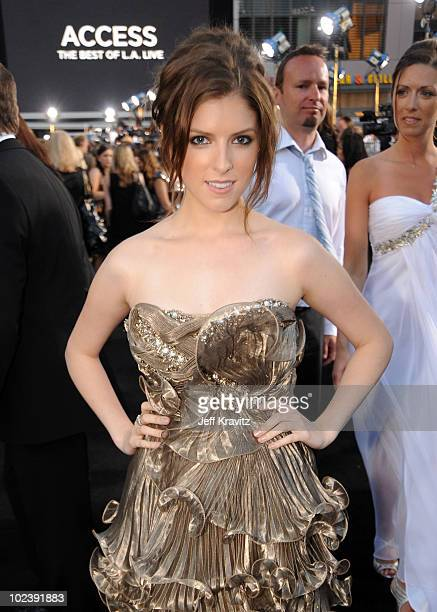 Actress Anna Kendrick arrives at the premiere of Summit Entertainment's 'The Twilight Saga Eclipse' during the 2010 Los Angeles Film Festival at...