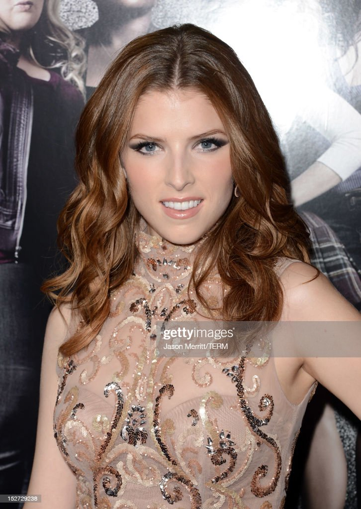 Actress Anna Kendrick arrives at the premiere of Universal Pictures And Gold Circle Films' 'Pitch Perfect' at ArcLight Cinemas on September 24, 2012 in Hollywood, California.