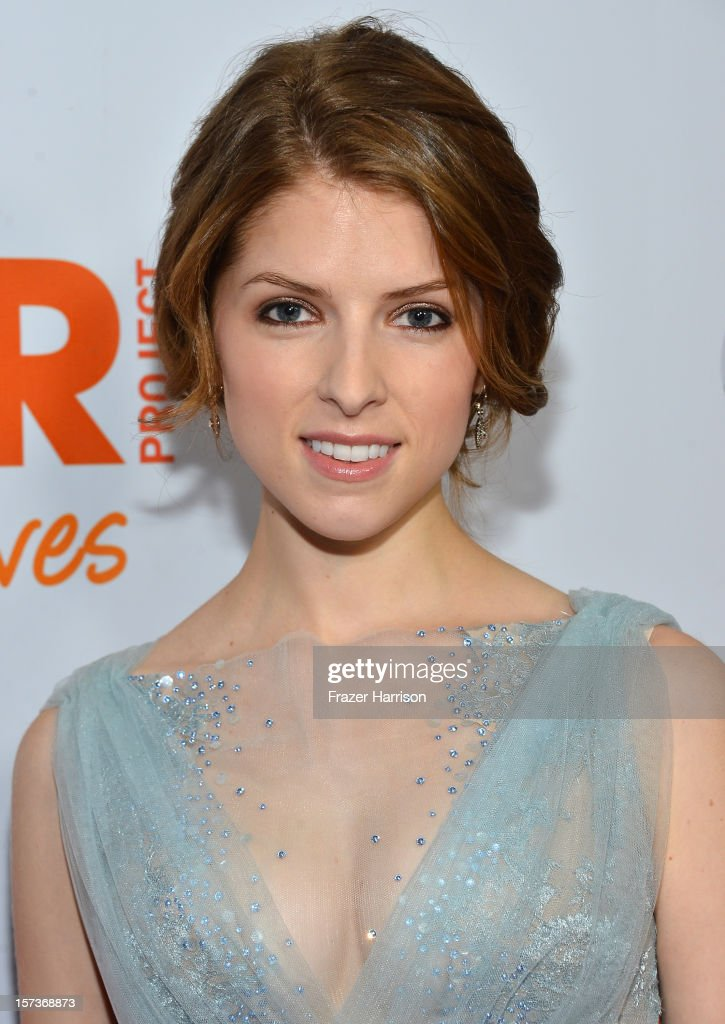 Actress Anna Kendrick arrives at 'Trevor Live' honoring Katy Perry and Audi of America for The Trevor Project held at The Hollywood Palladium on December 2, 2012 in Los Angeles, California.
